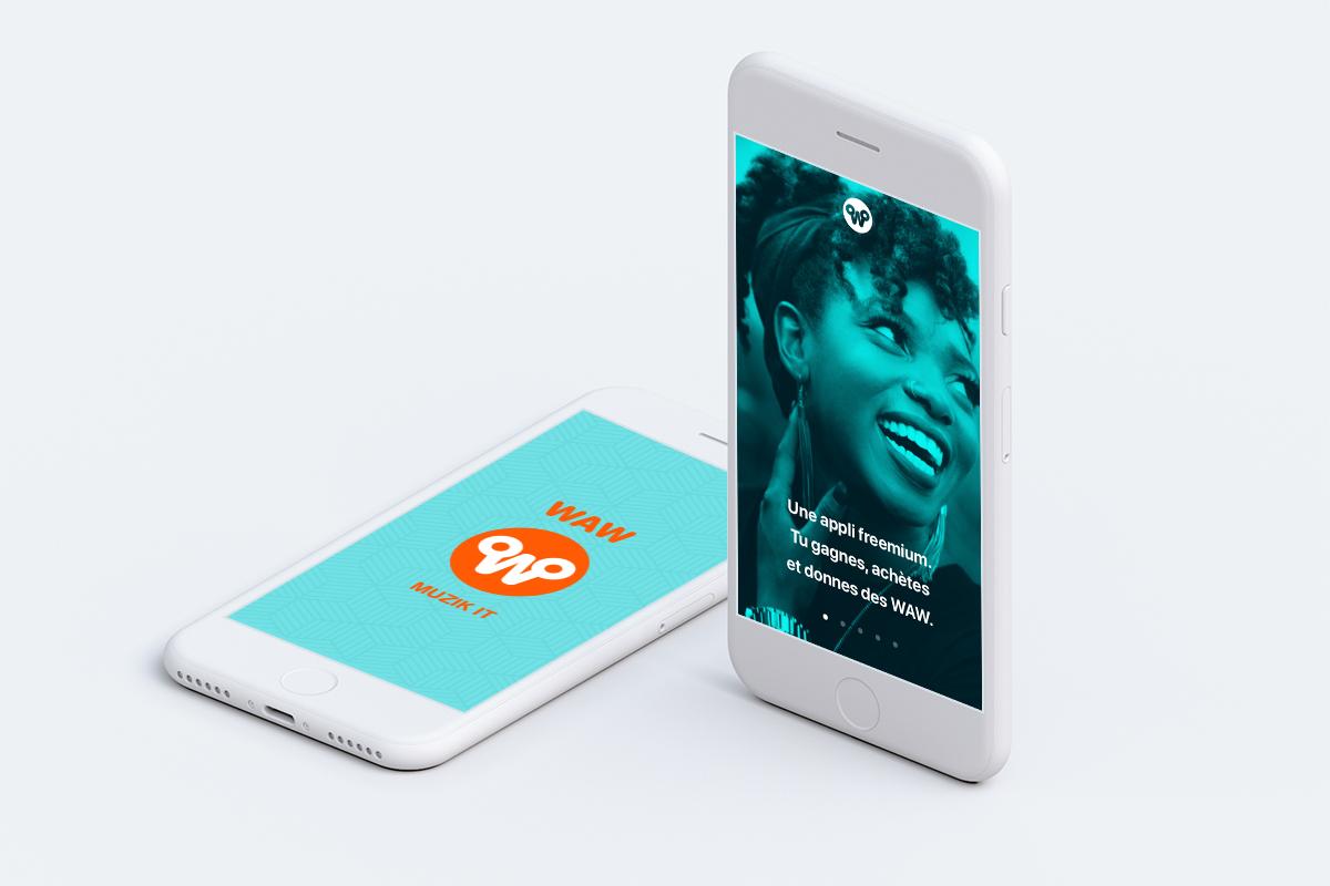 WAW Muzik streaming app